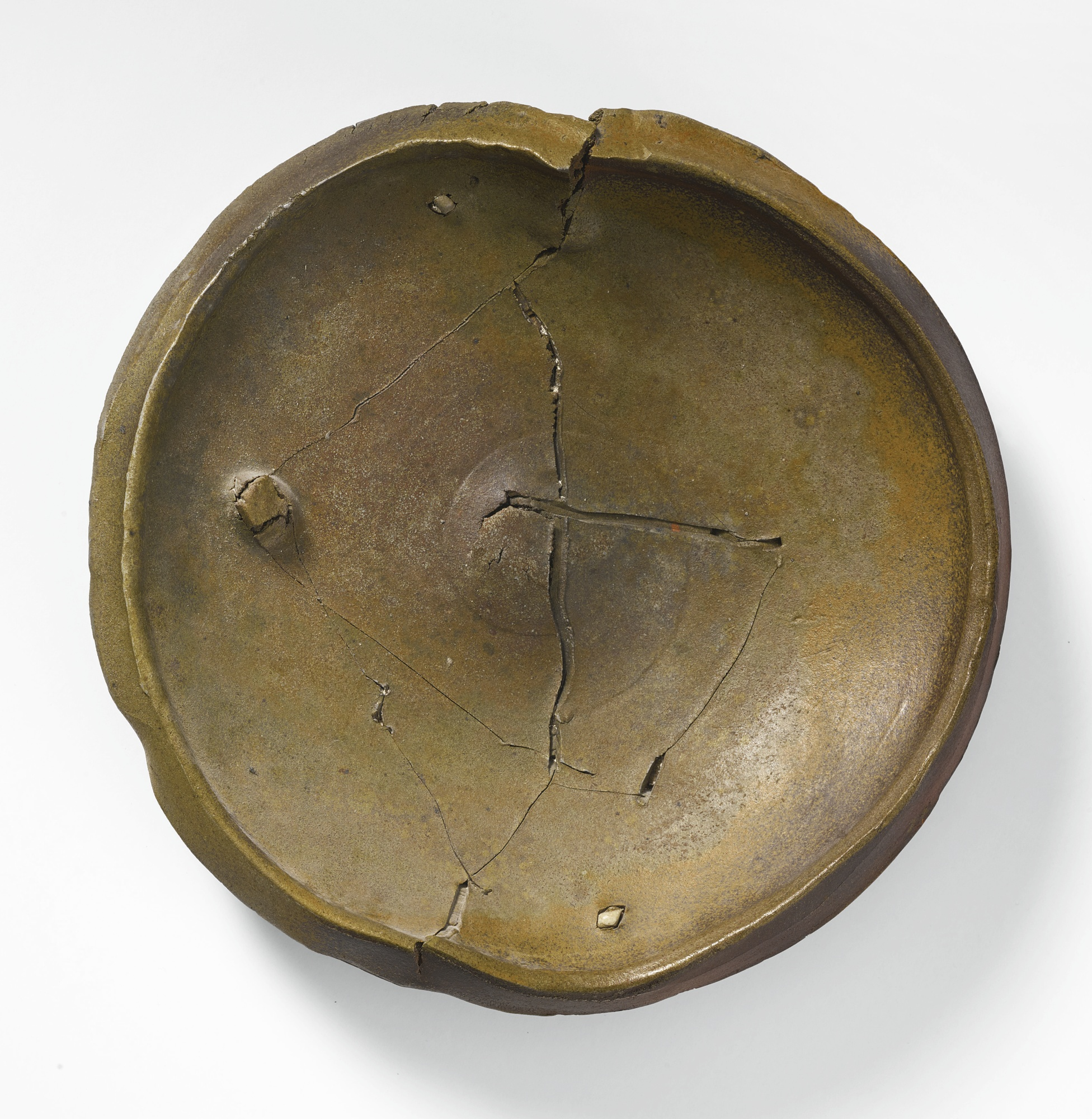 Peter Voulkos-Untitled (Plate)-1981