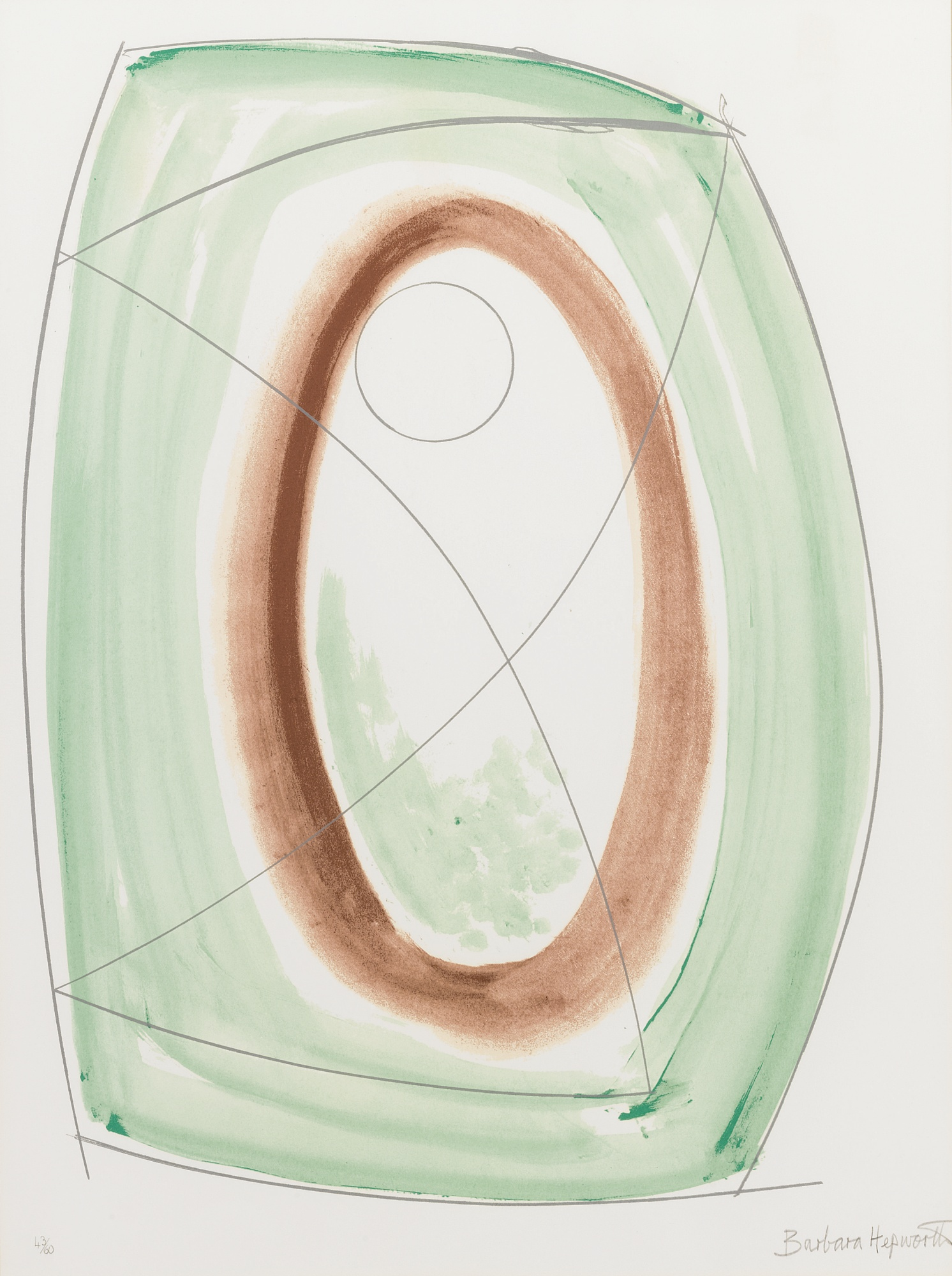Barbara Hepworth-November Green -1970