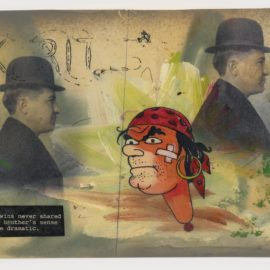 Michael Byron-Untitled (Postcard Series #43)-1995