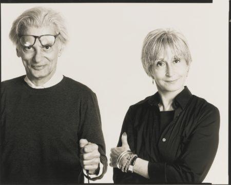 Richard Avedon-Self-Portrait With Twyla-2003