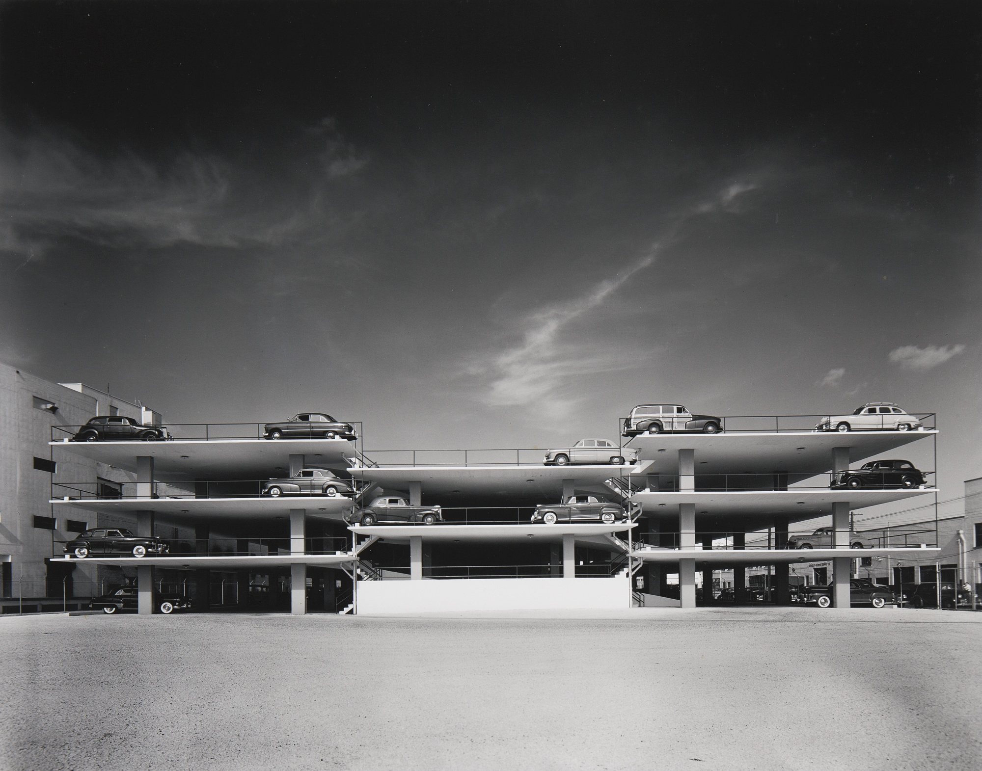 Ezra Stoller-Parking Garage Miami-1949