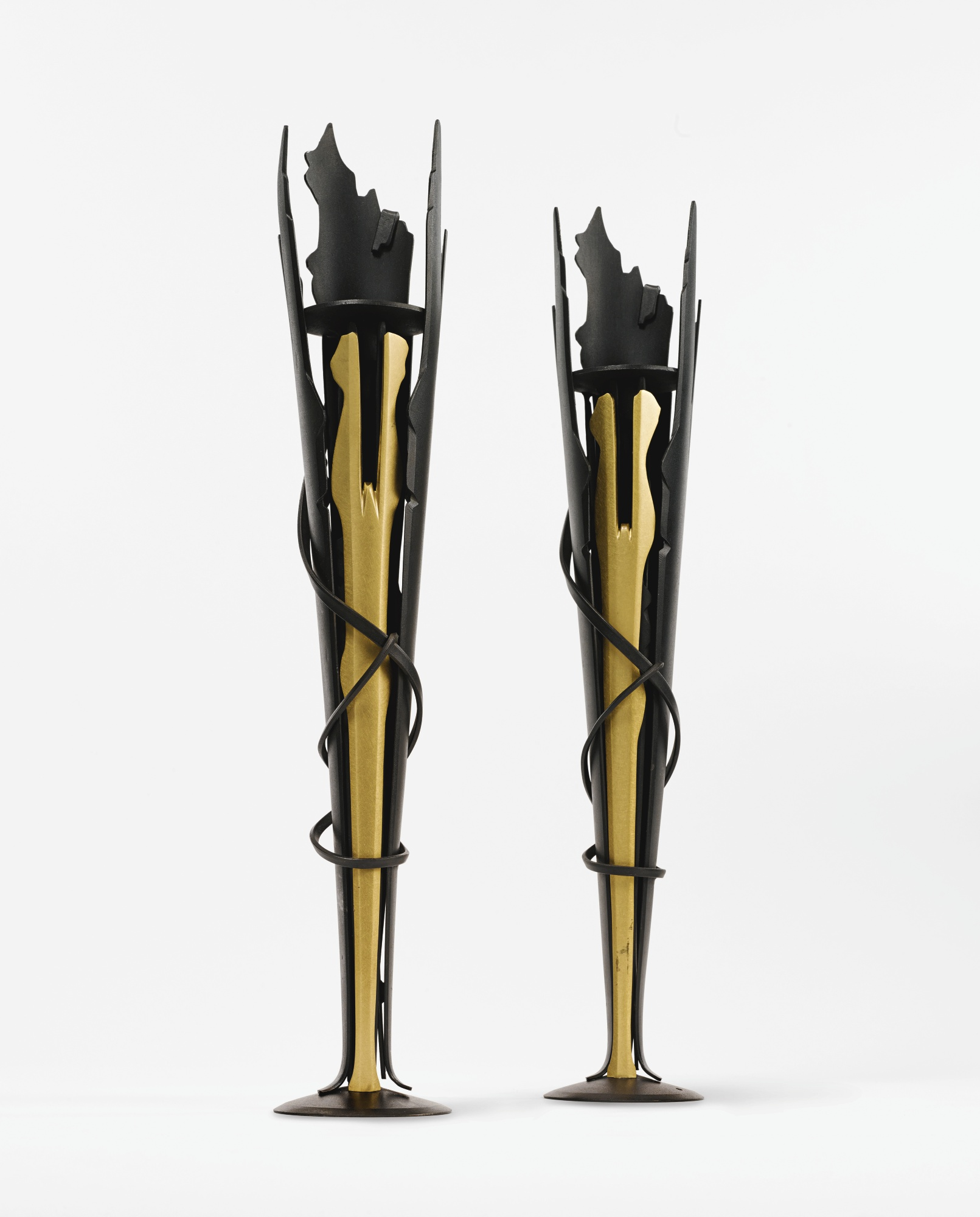Albert Paley-Two Candlesticks-1994