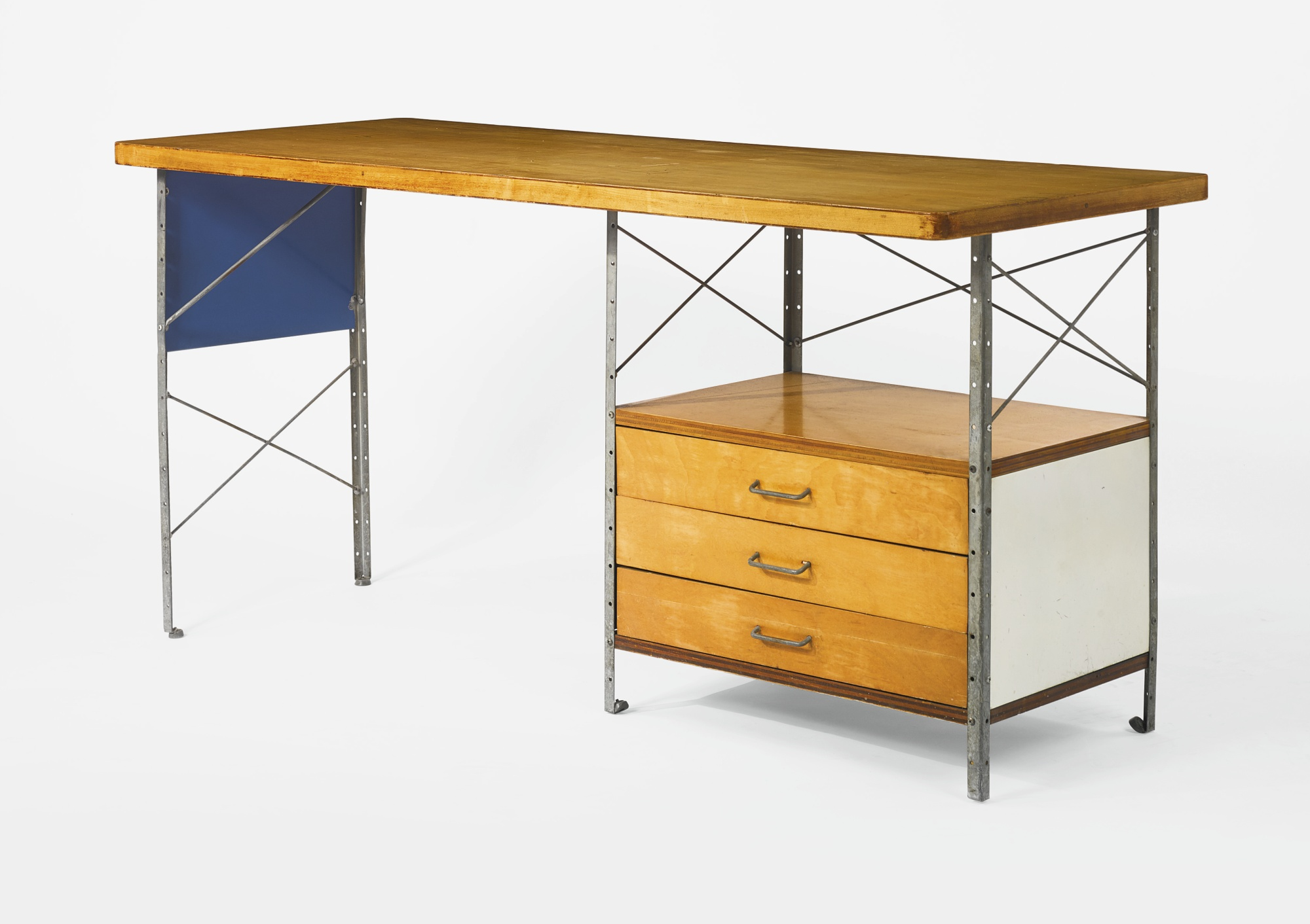 Charles and Ray Eames - 1St Edition Esu Desk Model No. D-20-N-1950