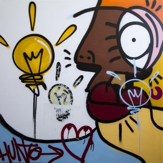Pichi & Avo-Hunto-The idea of love Canvas-2016