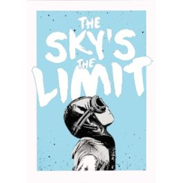 NME-The Sky's The Limit Print (Silver)