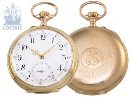 Pocket watch: German precision pocket watch Union bell Dürrstein Dresden-