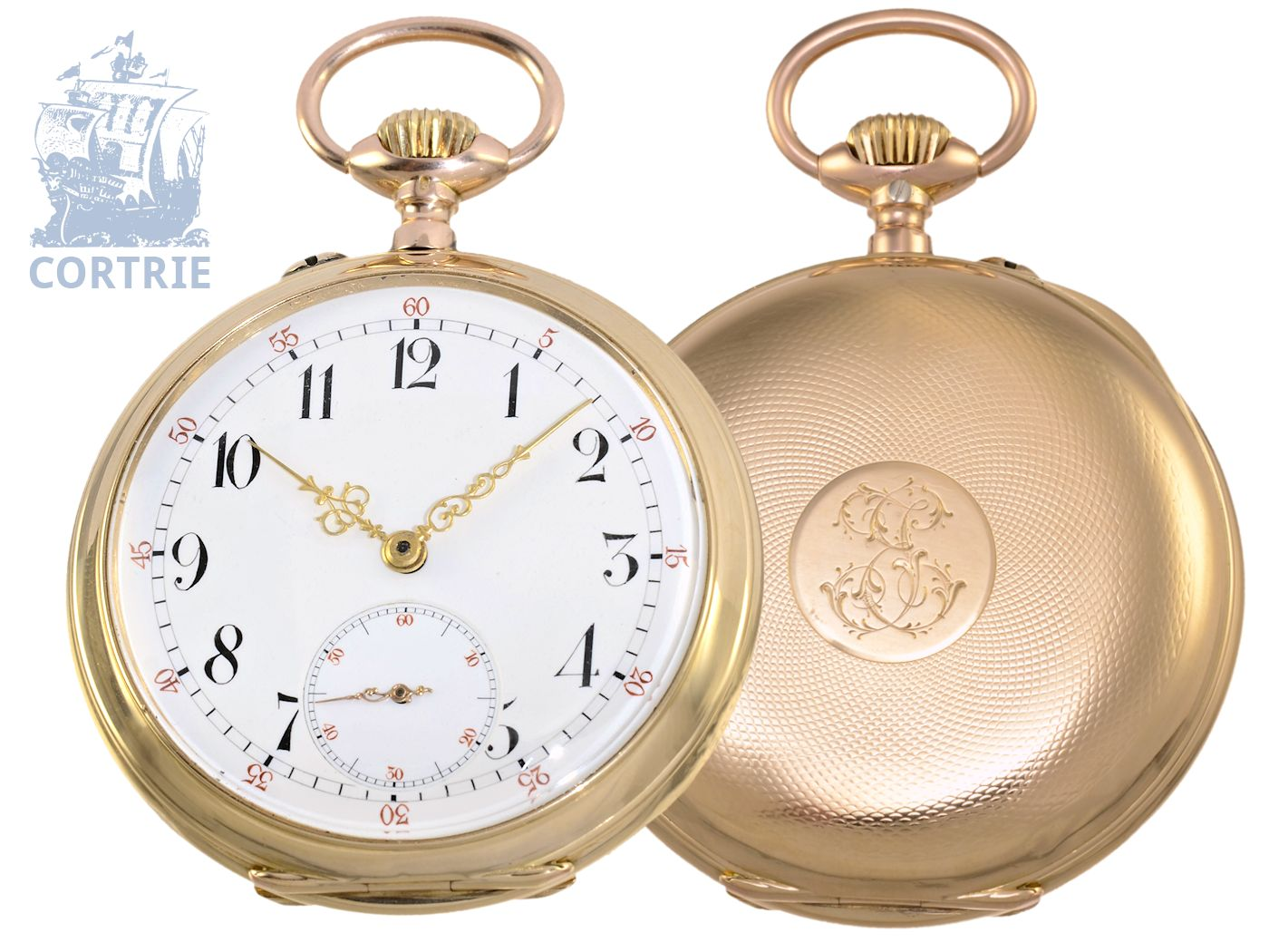 Pocket watch: German precision pocket watch Union bell Dürrstein Dresden-