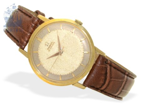 Wristwatch: early automatic gentlemen's watch by Omega, reference 2897/2898S.C, from 1958-