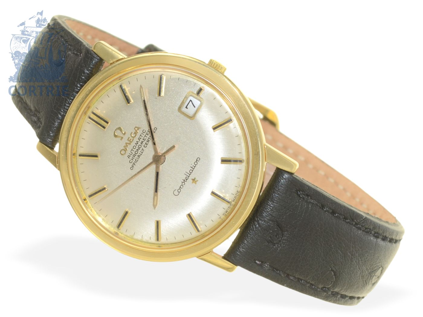Wristwatch: 18 K gold Omega Constellation Automatic Chronometer caliber 561, from 1966-