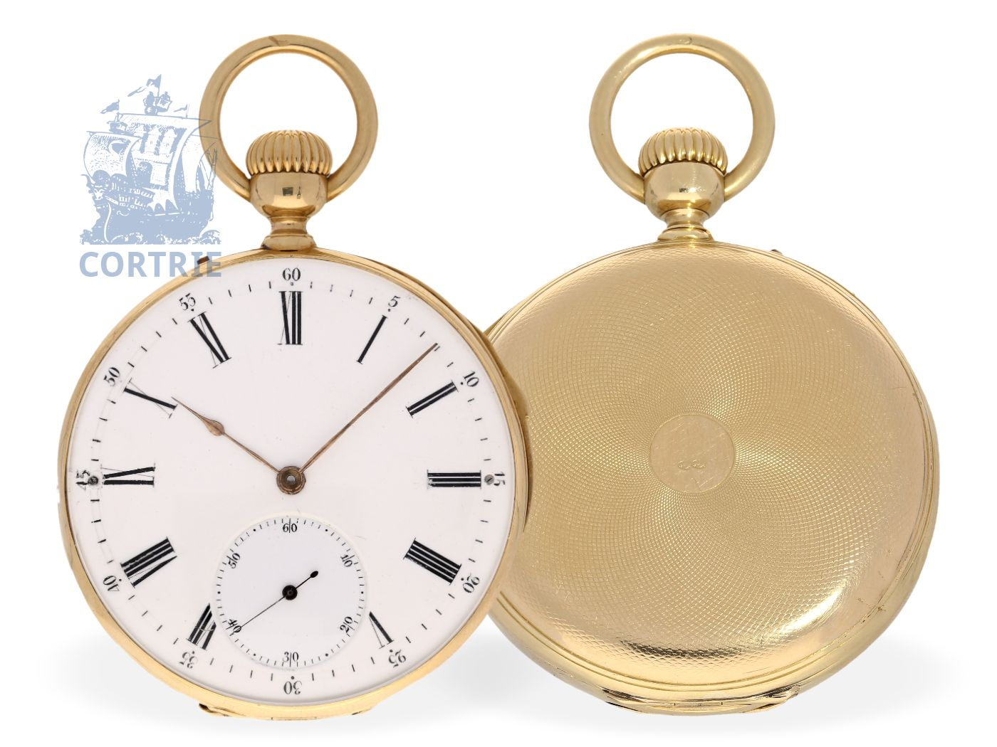 Pocket watch: very fine and small repeater, Breguet's trainee Oudin Paris No.20331, Paris ca. 1870-