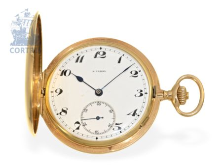 Pocket watch: extremely rare Ankerchronometer quality Extra, W.Gabu Locle, for the Russian market ca. 1905-