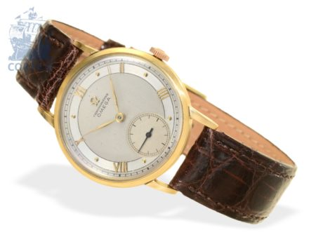 Wristwatch: popular Omega Chronometer 30T2RG from 1946-