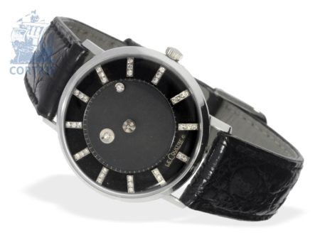 Wristwatch: very rare Vacheron & Constantin-Le Coultre Mystery Galaxy with diamond dial, from the 1940s-
