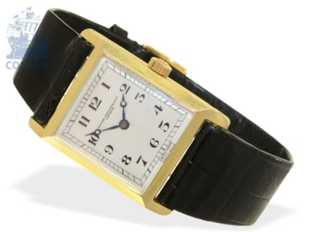 Wristwatch: Patek Philippe rarity, extremely early wristwatch, ca. 1920, Ankerchronometer-