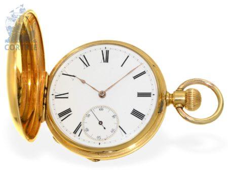 The pocket watch: early Patek Philippe Ankerchronometer No.57706, Geneva 1881-