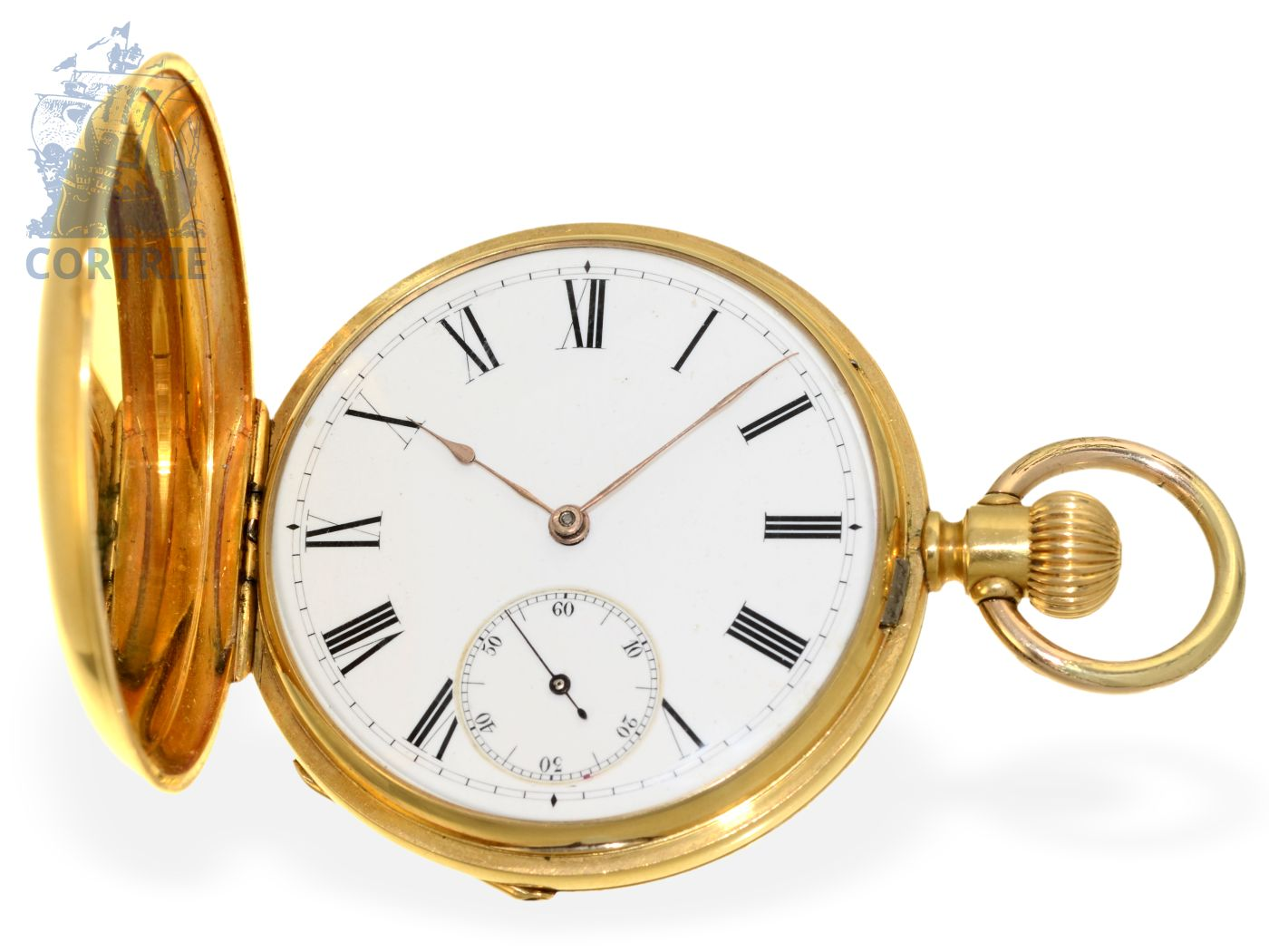 The pocket watch: early Patek Philippe Ankerchronometer No.57706, Geneva 1881-