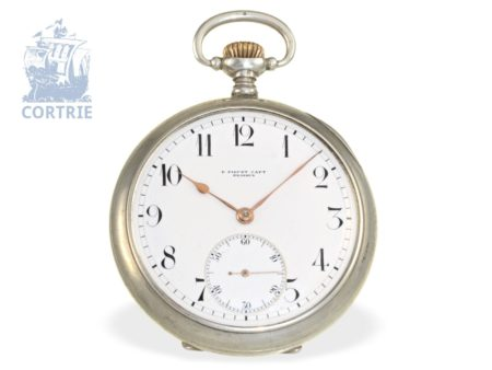 Pocket watch: rare and fine Ankerchronometer, Piguet Capt Brassus, ca. 1915-