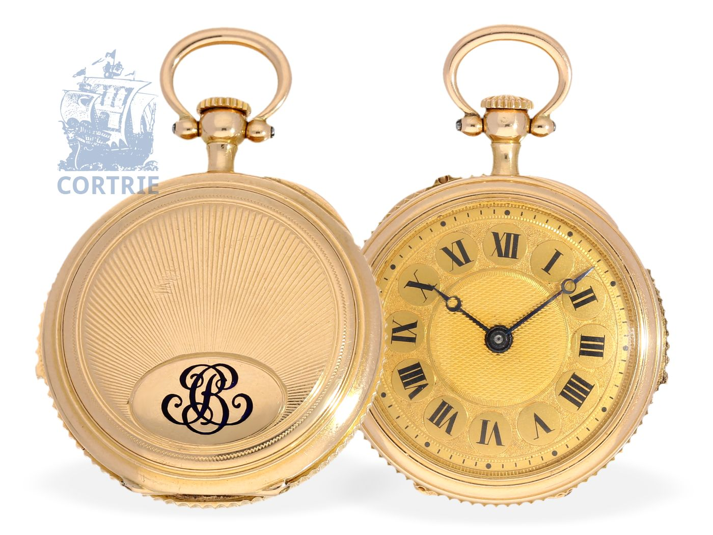 Pocket watch: important and rare miniature pocket watch minute repeater, Leroy & Cie Hger de la Marine Paris/ Louis Elisée Piguet, ca. 1900-