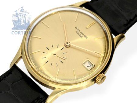 Wristwatch: very fine automatic gentlemen's watch Patek Philippe reference 3514, Geneva 1965-