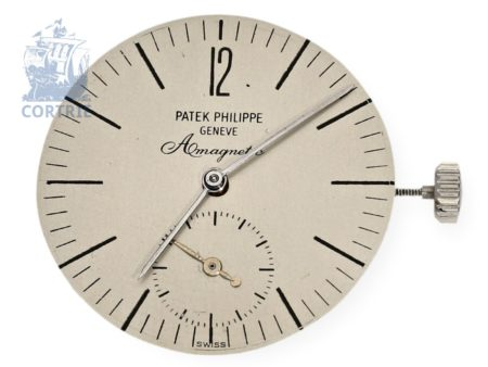 Wristwatch: extremely rare Patek Philippe movement from Ref.3417 AMAGNETIC stainless steel 1961-
