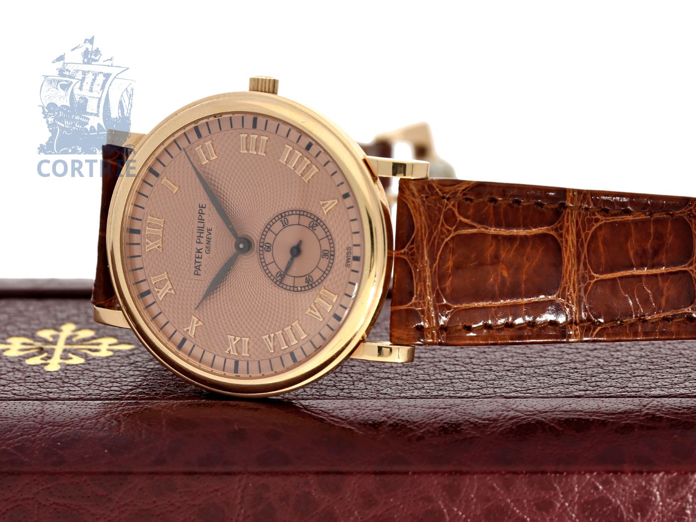 Wristwatch: like new, unused Patek Philippe Calatrava Rosé Ref.5022, with original box-