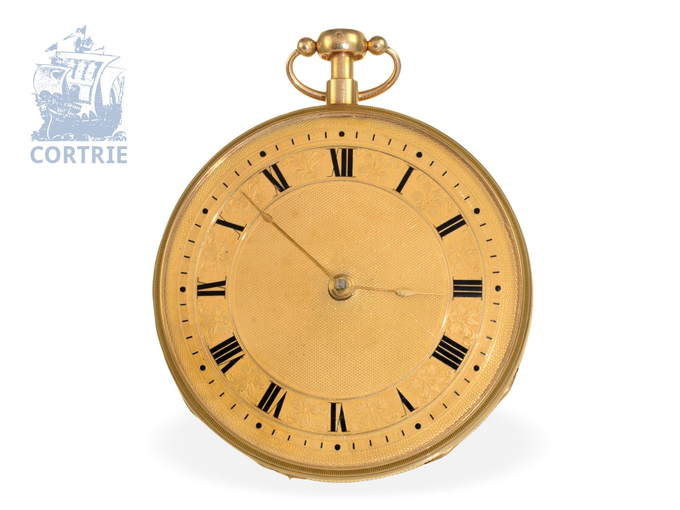 Pocket watch: very big and fine music watch with repeater, probably Piguet & Meylan ca. 1820-