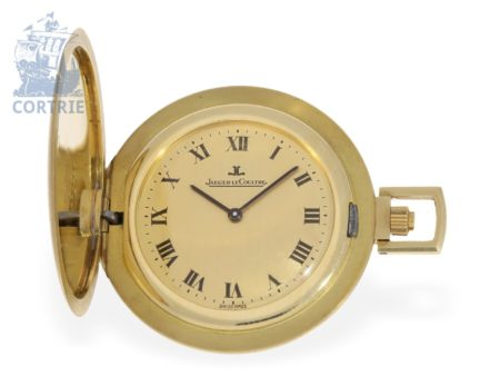 Pocket watch: rare Jaeger Le Coultre dress watch ca. 1960, excellent condition, probably unused-