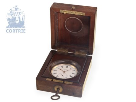 Pocket watch: rare and small marine deck watch Dent London No.28763, England 1862-