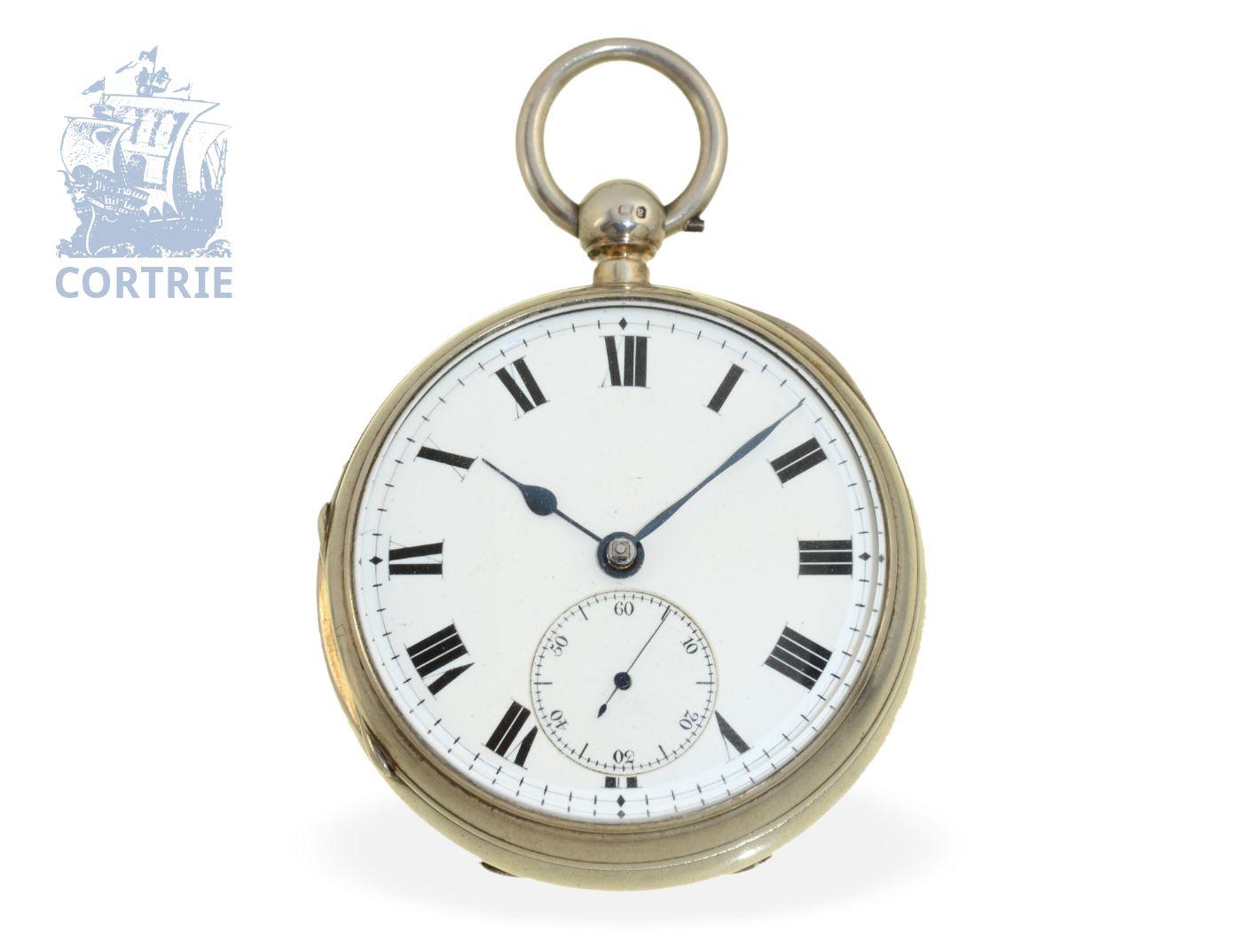 Pocket watch: English pocket watch chronometer, John Arnold & Son London No.19672-