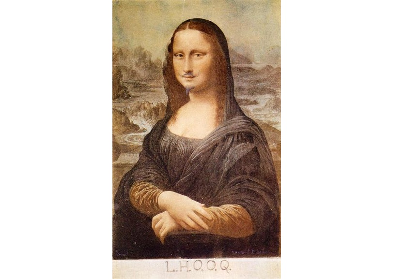 Marcel Duchamp L.H.O.O.Q