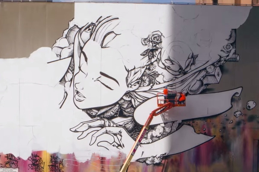 SOFLES - GRAFFITI MAPPED