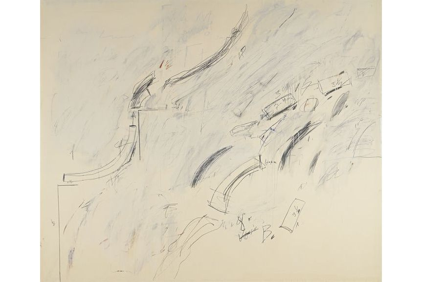 Cy Twombly Untitled (Bolsena), 1969