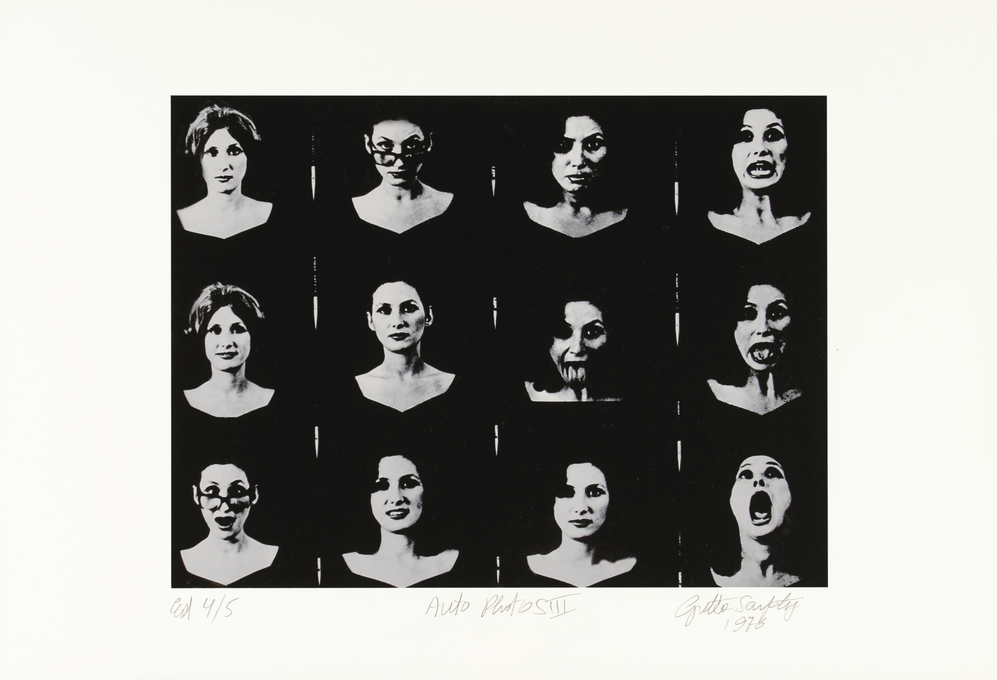 Gretta Sarfaty Marchant-Auto Photos III-1976