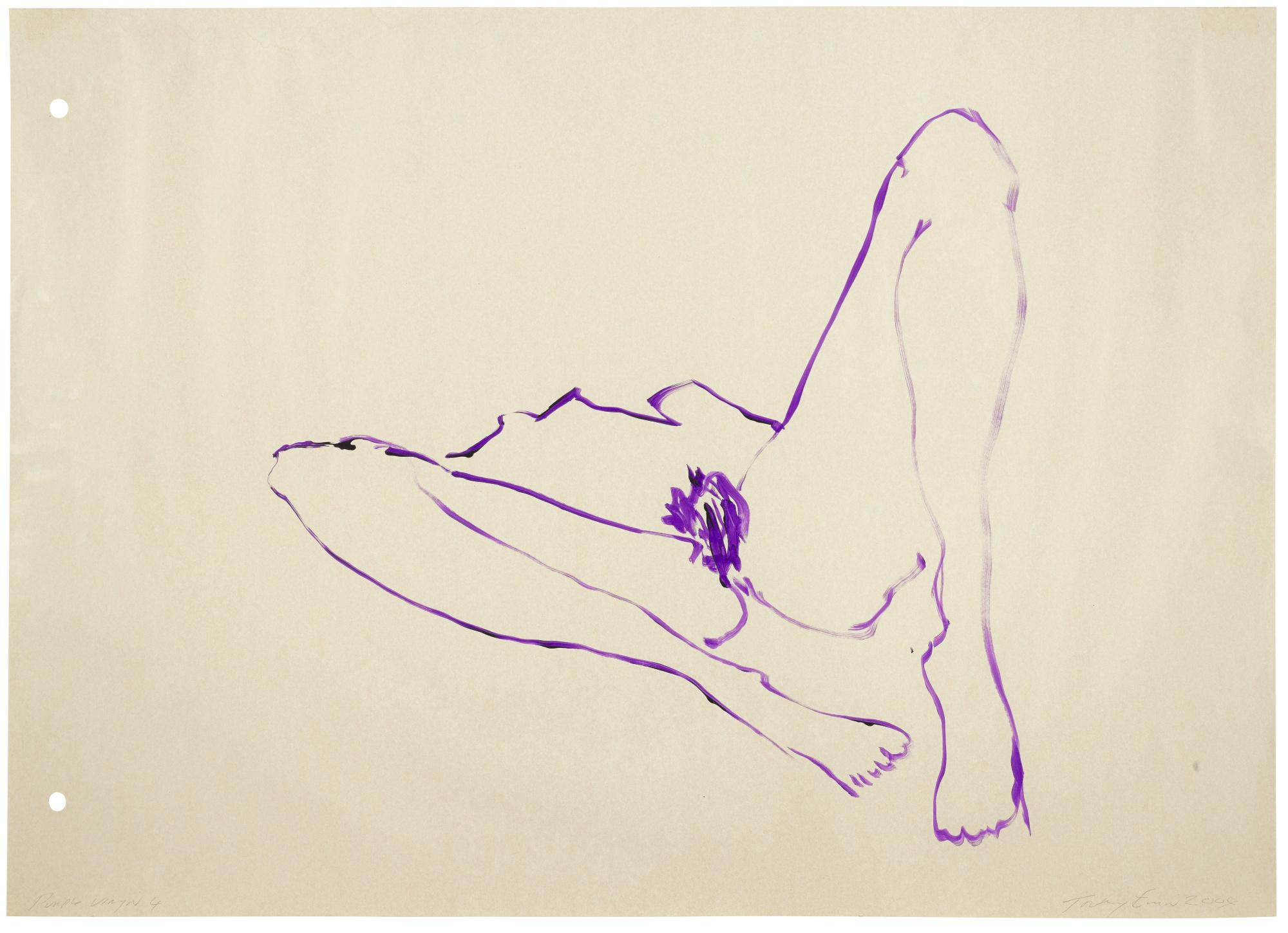 Tracey Emin-The Purple Virgin 4-2004