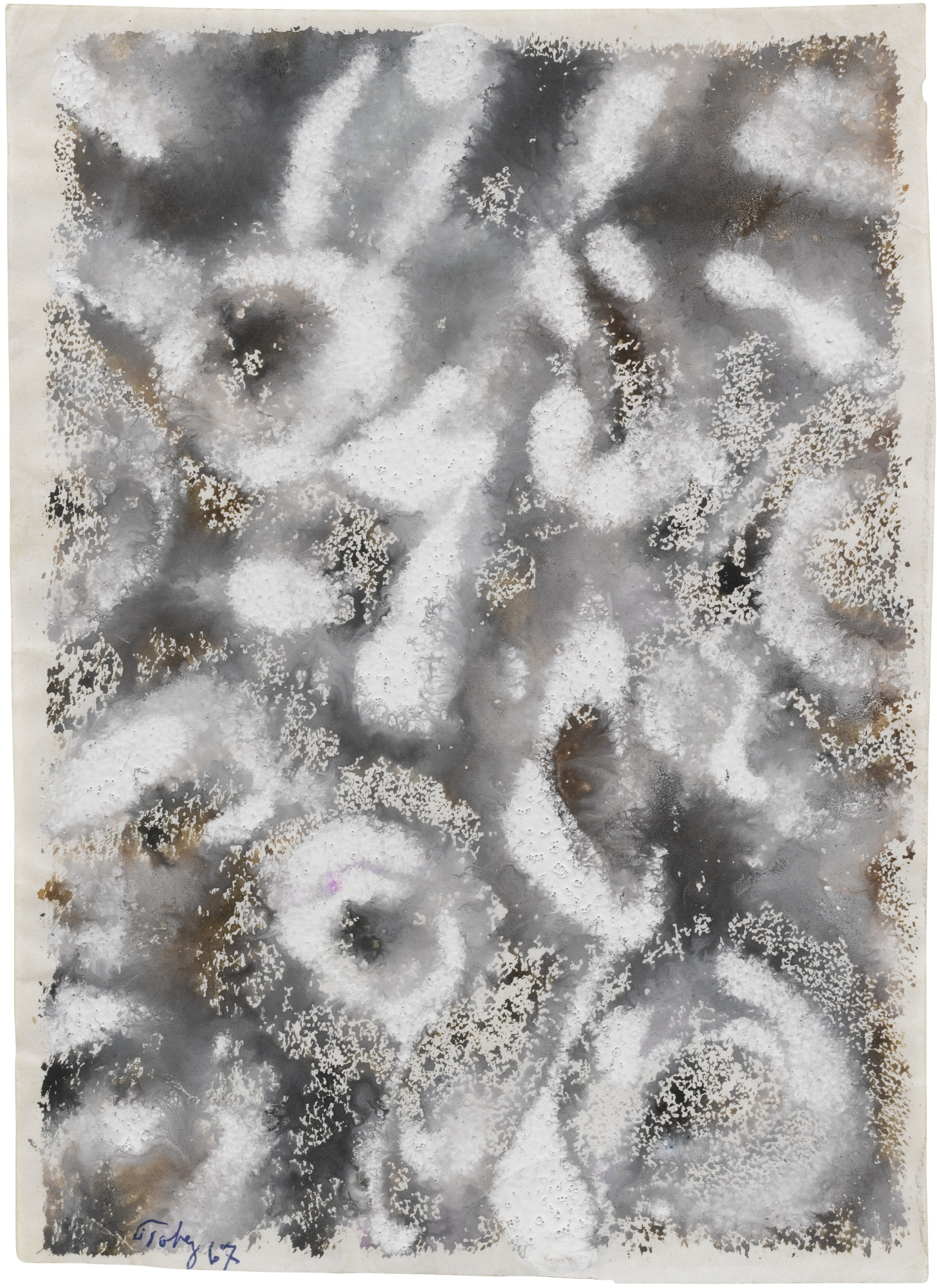 Mark Tobey-Untitled-1967