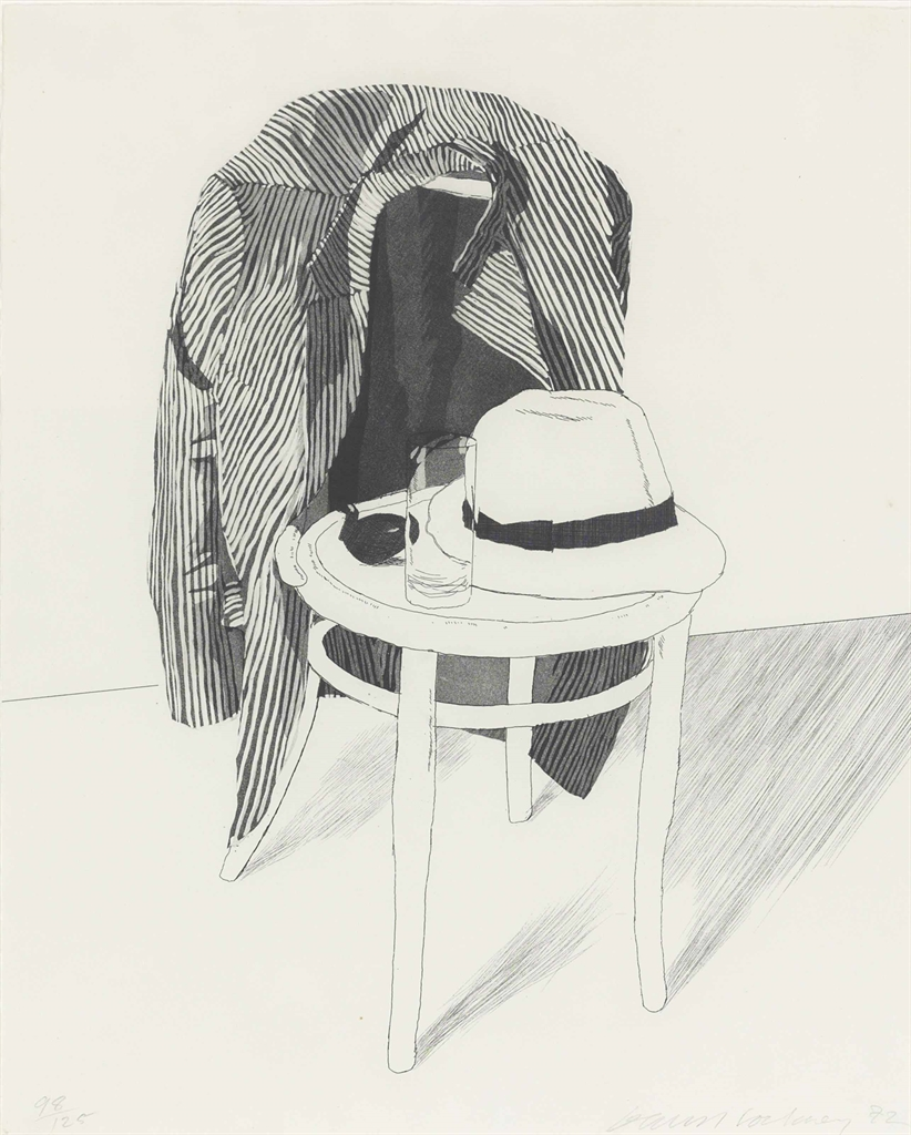 David Hockney-Panama Hat-1972