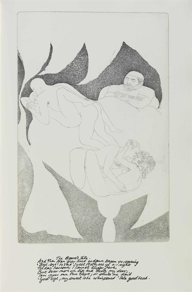 Elisabeth Frink-Canterbury Tales-1972
