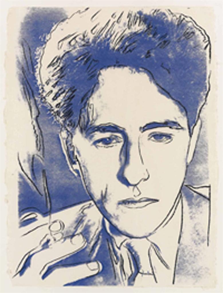 Andy Warhol-Jean Cocteau-1983