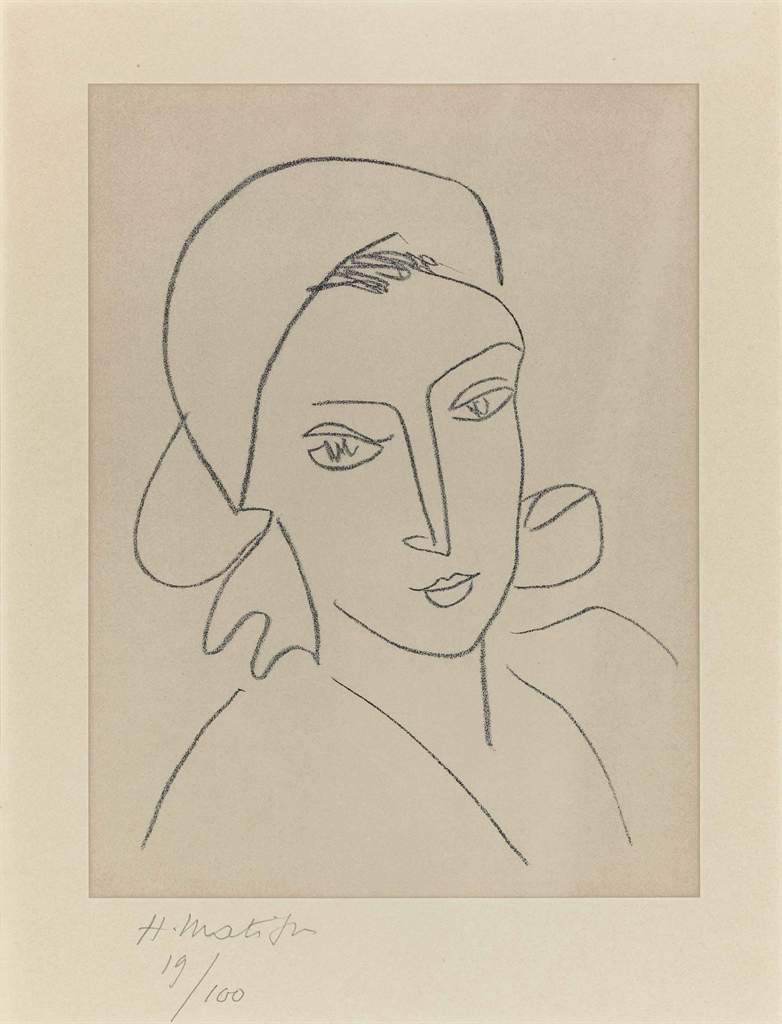 Henri Matisse-Catherinette-1946