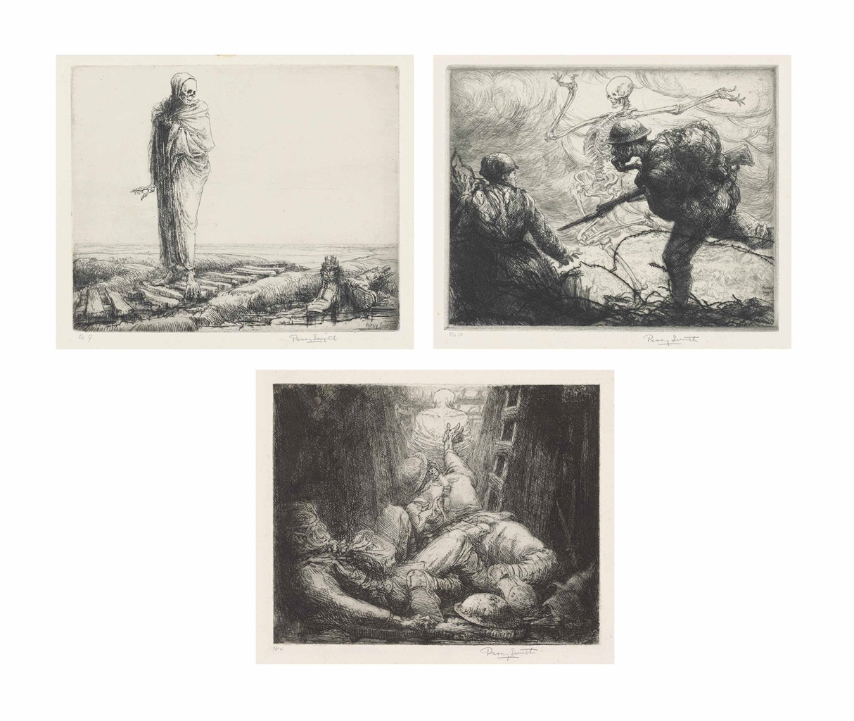 Percy John Delf Smith-The Dance of Death 1914-1918-1919
