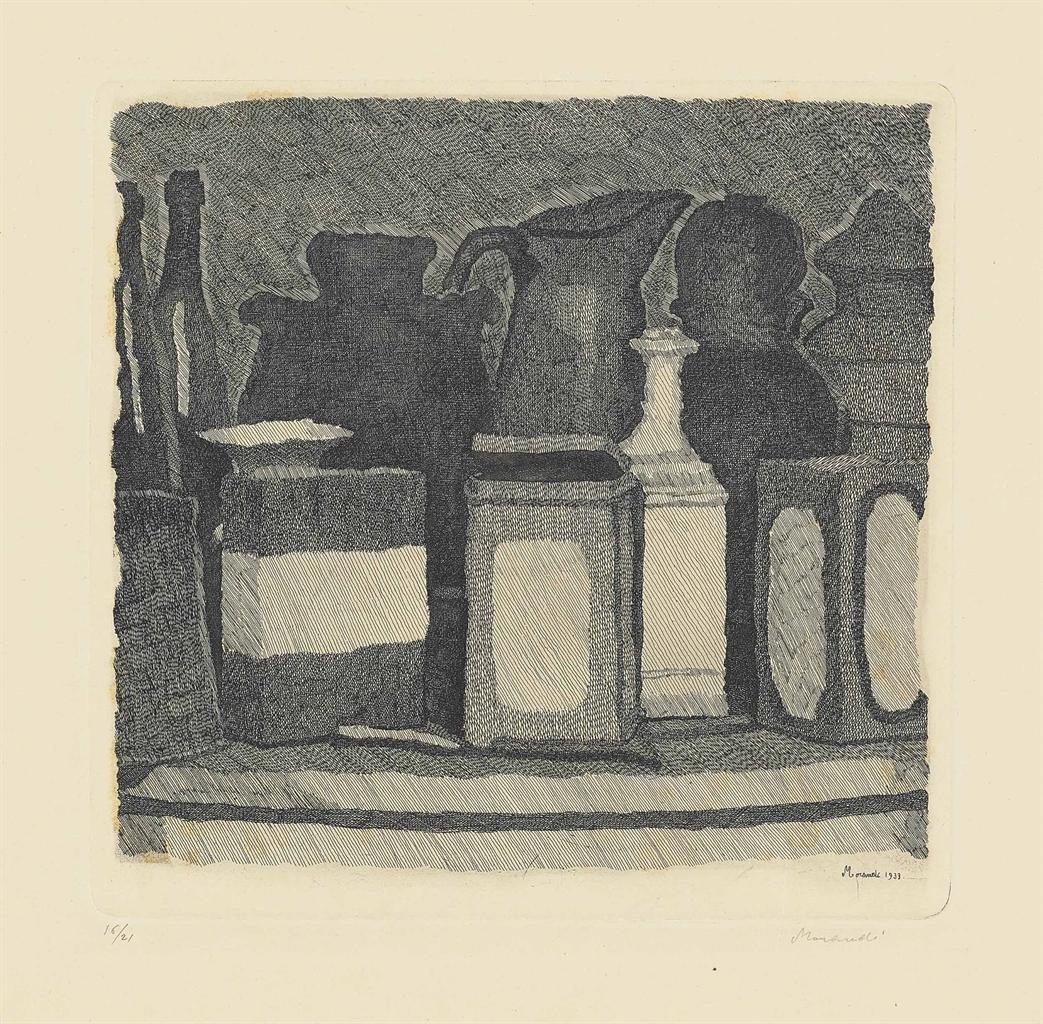 Giorgio Morandi-Natura morta-1933