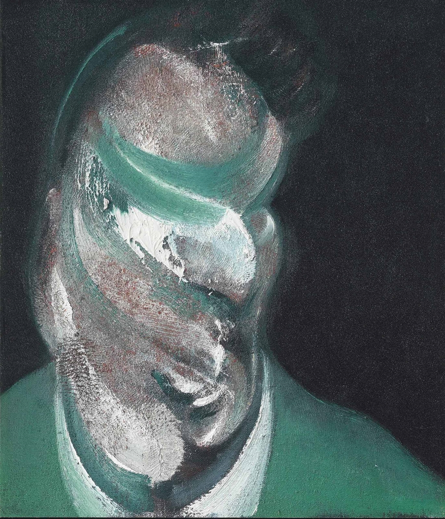 Francis Bacon-After Francis Bacon - Study for Head of Lucian Freud-1967