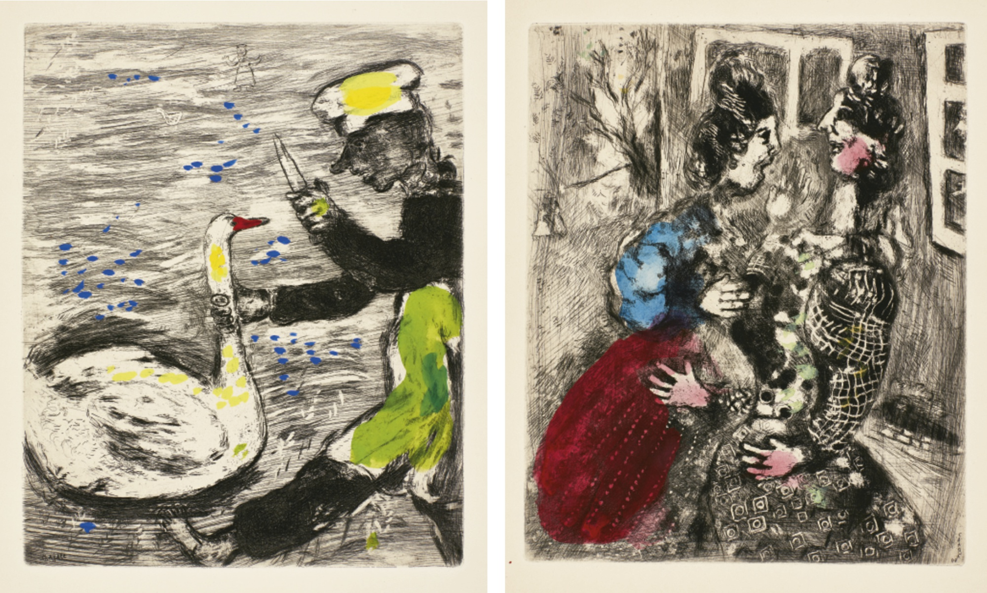 Marc Chagall-Fables (Cramer Books 22)-1952