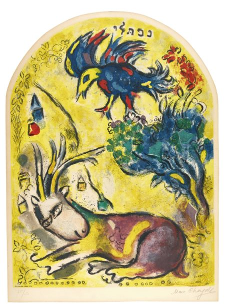 Charles Sorlier-After Marc Chagall - The Tribe Of Naphtali (M. Cs 21)-1964