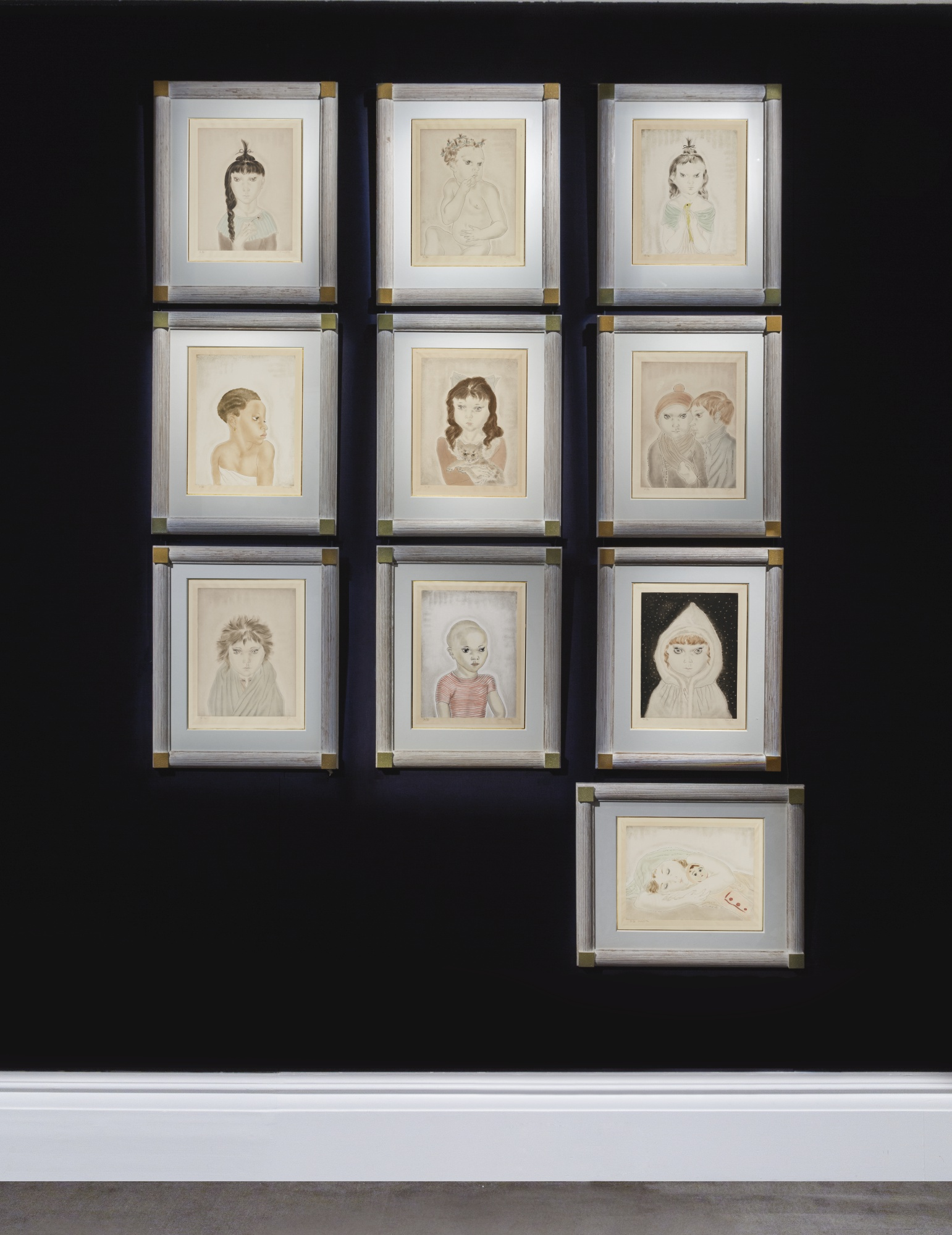 Tsuguharu Foujita-Les Enfants-1929