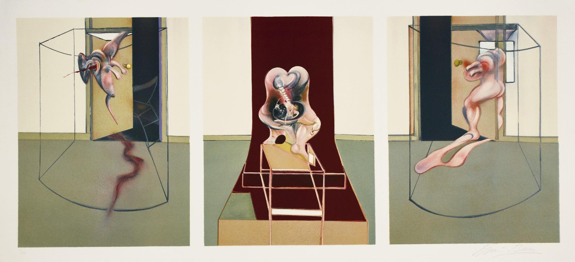 Francis Bacon-Oresteia Of Aeschylus (Sabatier 16)-1981
