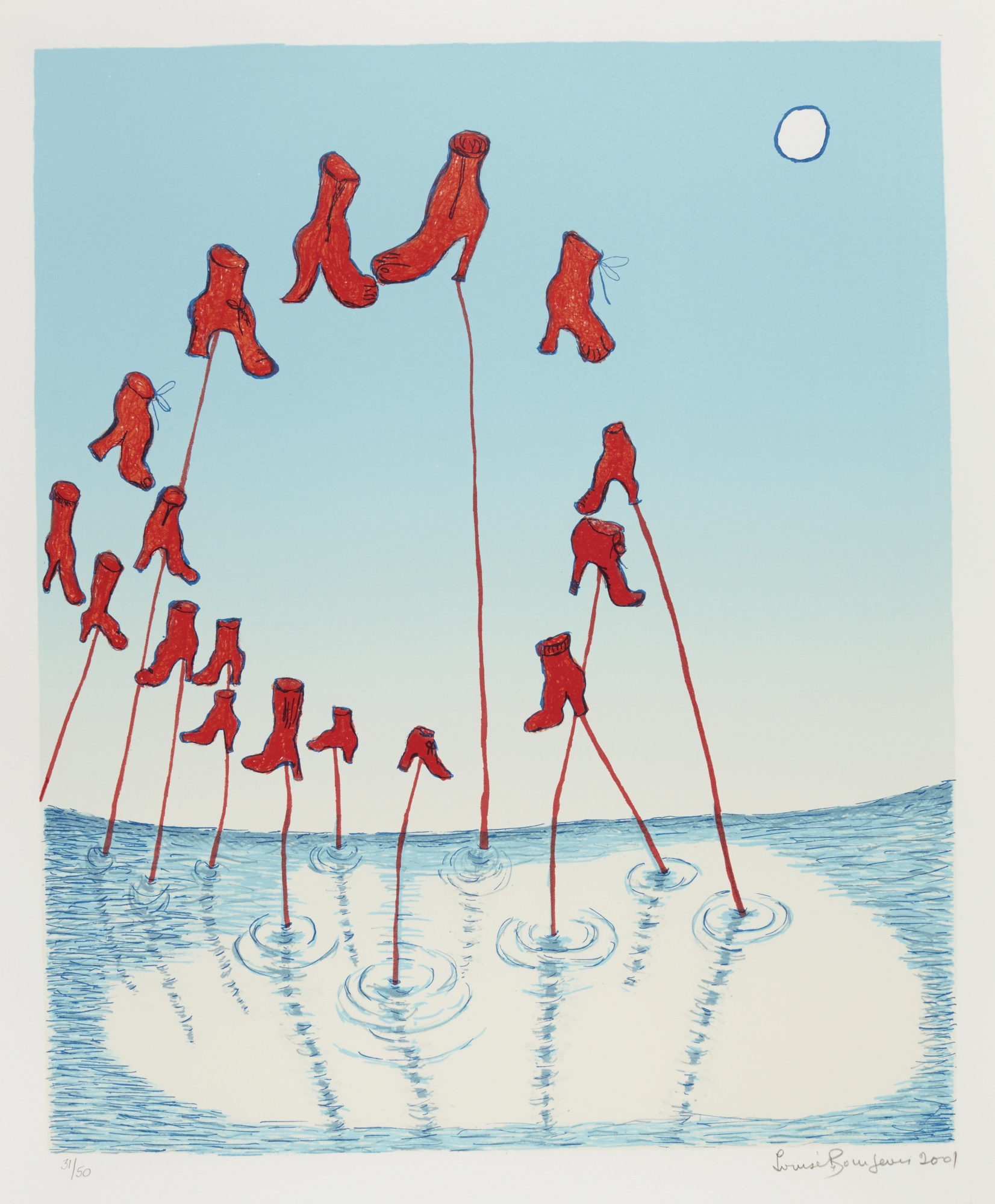 Louise Bourgeois-The Night (Moma 427.2)-2001