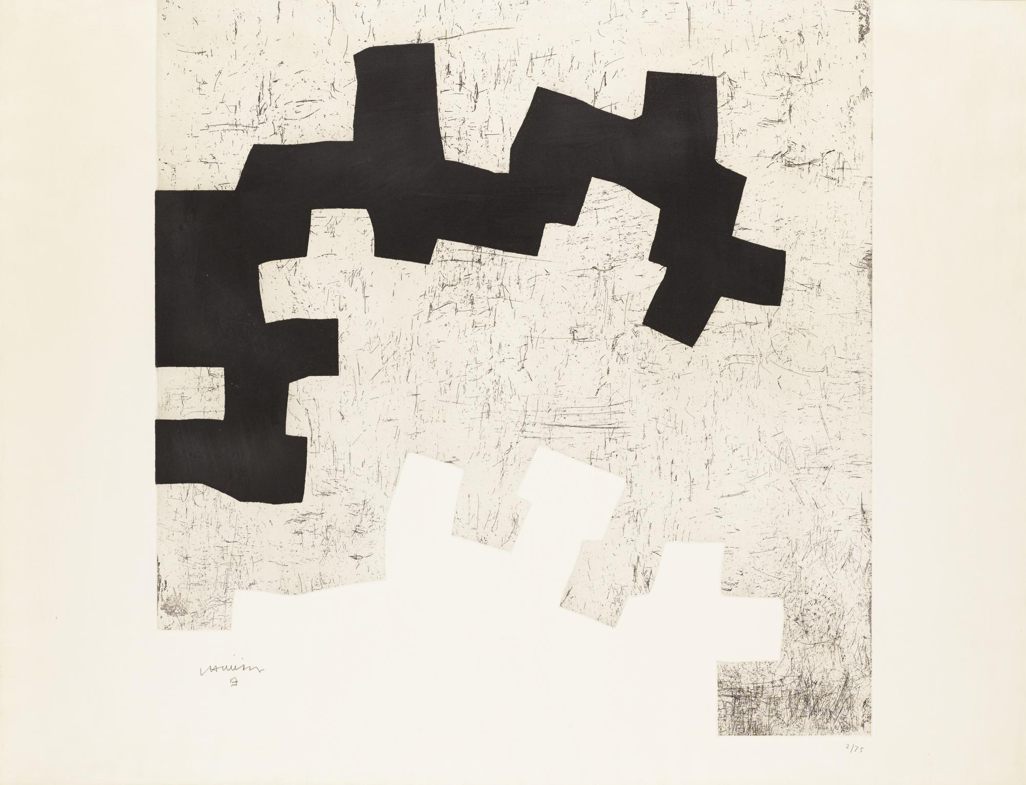 Eduardo Chillida-Aldikatu IIi (Koelen 72011)-1972