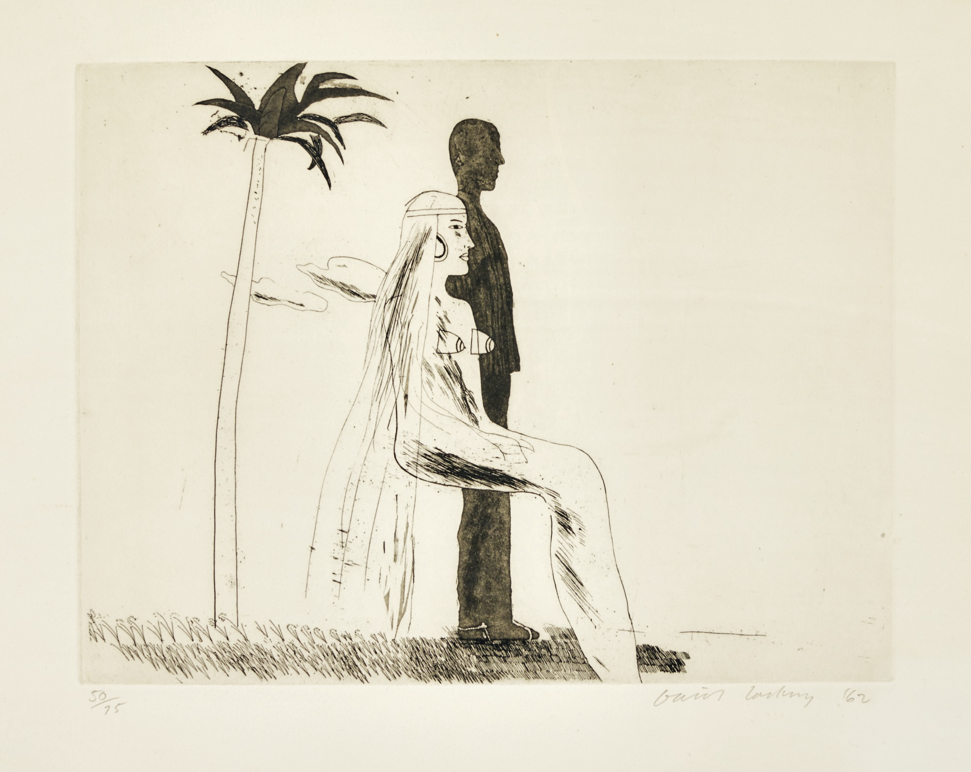 David Hockney-The Marriage (Scottish Arts Council14; Museum Of Contemporary ArtTokyo 30)-1962