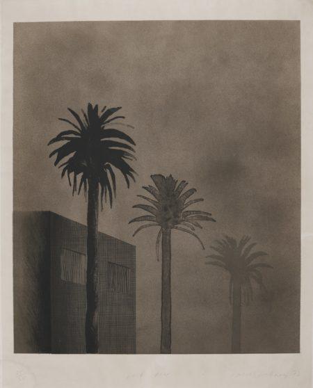 David Hockney-Dark Mist (S. A. C. 134; Mca Tokyo 123)-1973